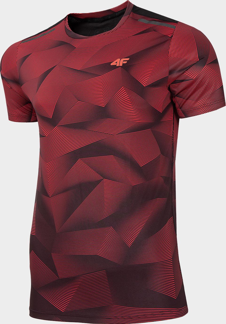 Pánske funkčné tričko 4F TSMF274 Červené červená S