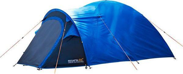 Campingový stan pre 2 osoby REGATTA RCE163 Kivu 2 v2 Modrý modrá UNI