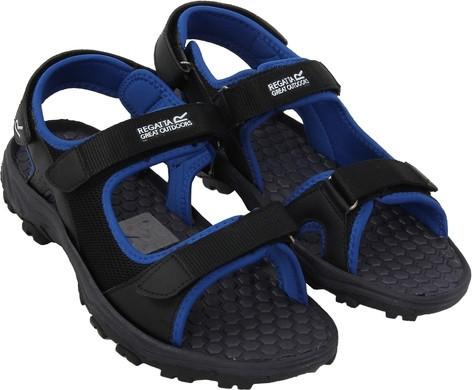 Pánske sandále Regatta RMF396 TERRAROCK Black / Oxford Blue Cernay 44