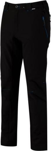 Pánske outdoorové nohavice REGATTA RMJ190R Questra Čierne Cernay 30in