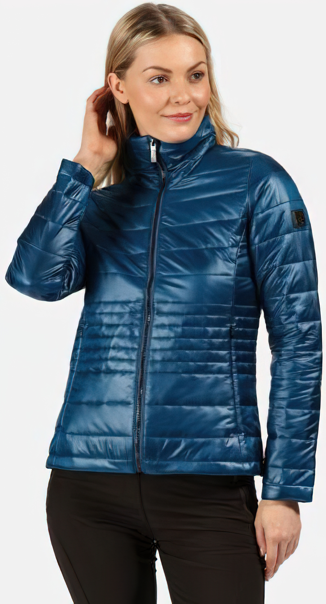 Dámska zateplená bunda Regatta Lustel B56 modrá modrá 38