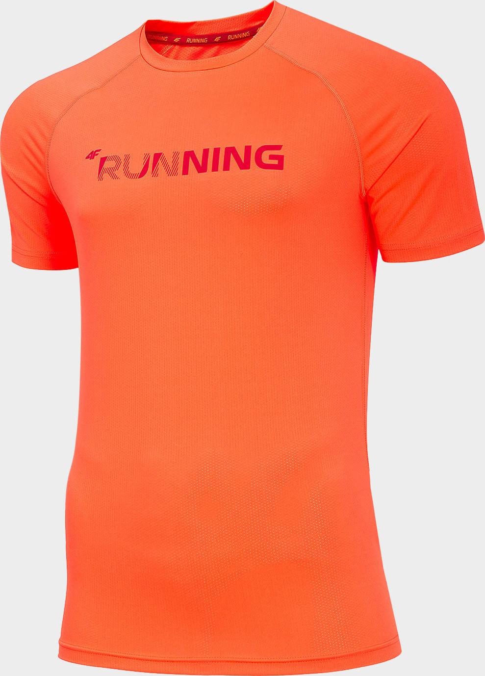 Pánske funkčné tričko 4F TSMF276 Oranžové oranžová S
