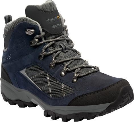 Pánska treková obuv REGATTA RMF485 Clydebank Modré modrá 43