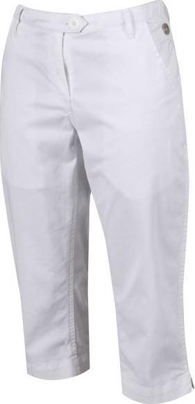 Dámske 3/4 nohavice Regatta Maleena Capri II 900 biele biela 36