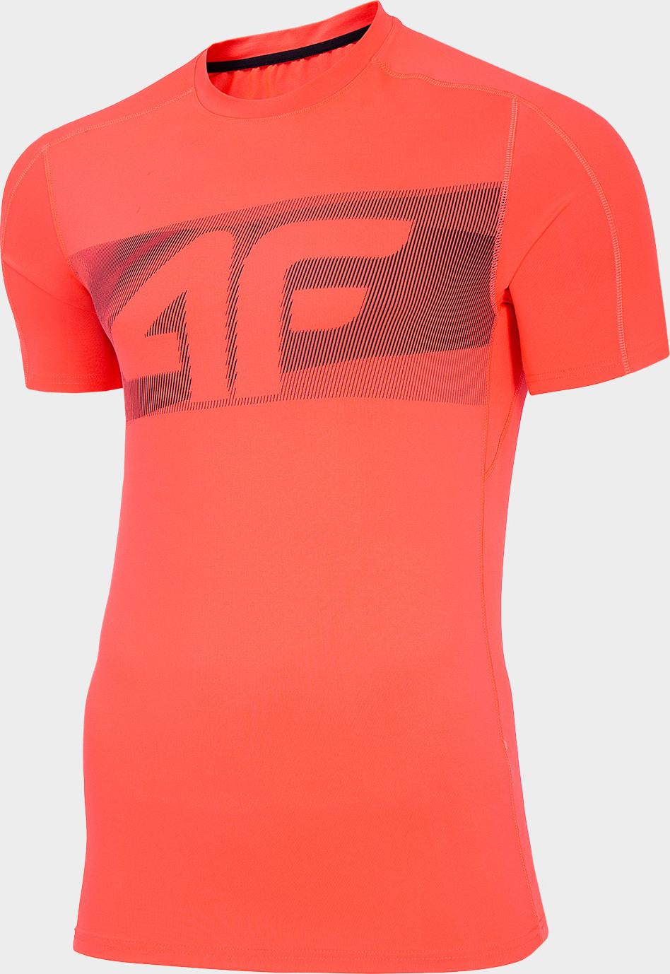Pánske športové tričko 4F TSMF283 Červené červená XXL