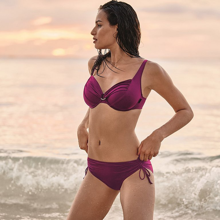 Hermine Top Bikini - horní díl 769 berry - RosaFaia 769 berry 46F