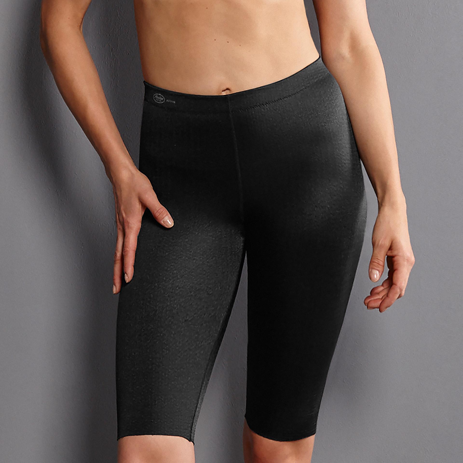 športové nohavice masážne 001 čierna - Active 001 čierna 42