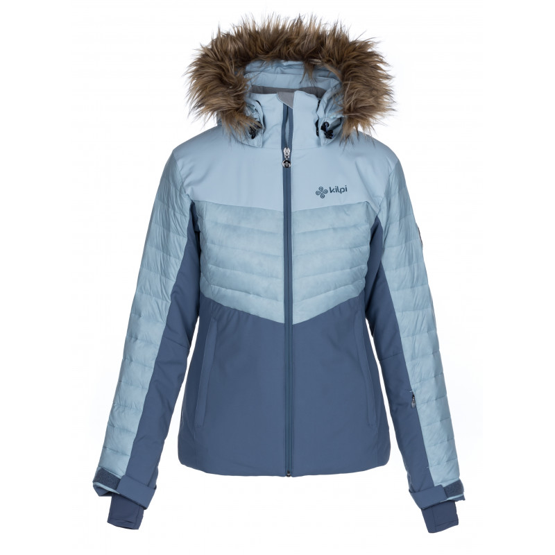 Dámska lyžiarska bunda Breda-w svetlo modrá - Kilp 44