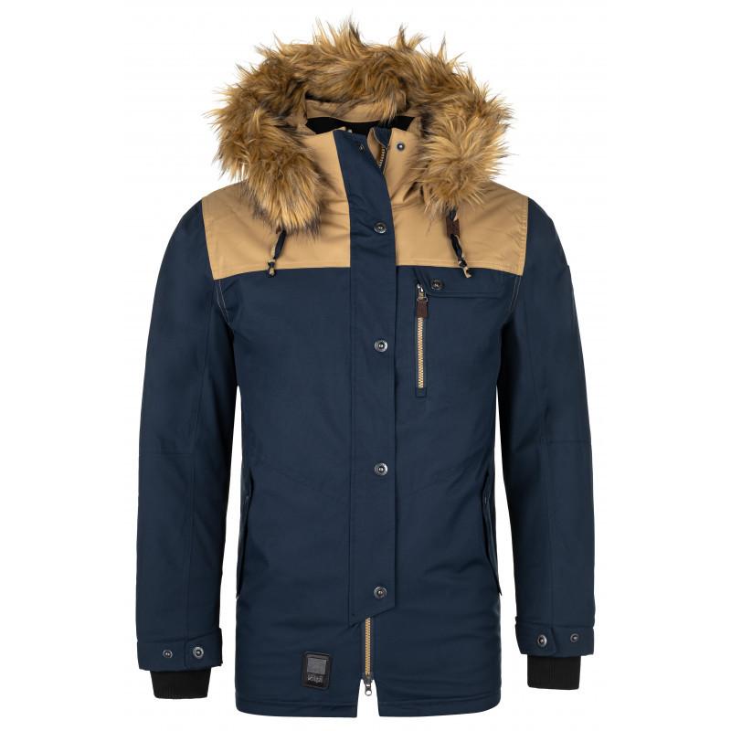 Pánska zimná bunda Alpha-m tmavo modrá M
