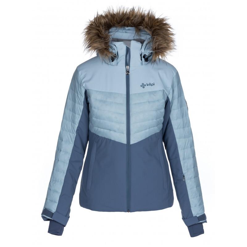 Dámska lyžiarska bunda Breda-w svetlo modrá - Kilp 38