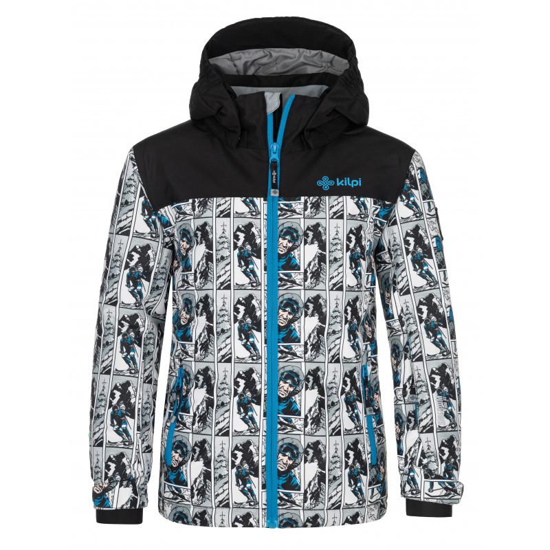 Dětská lyžařská bunda Ateni-jb bílá 122
