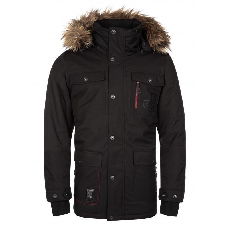Pánska zimná bunda Alpha-m čierna - Kilp XL