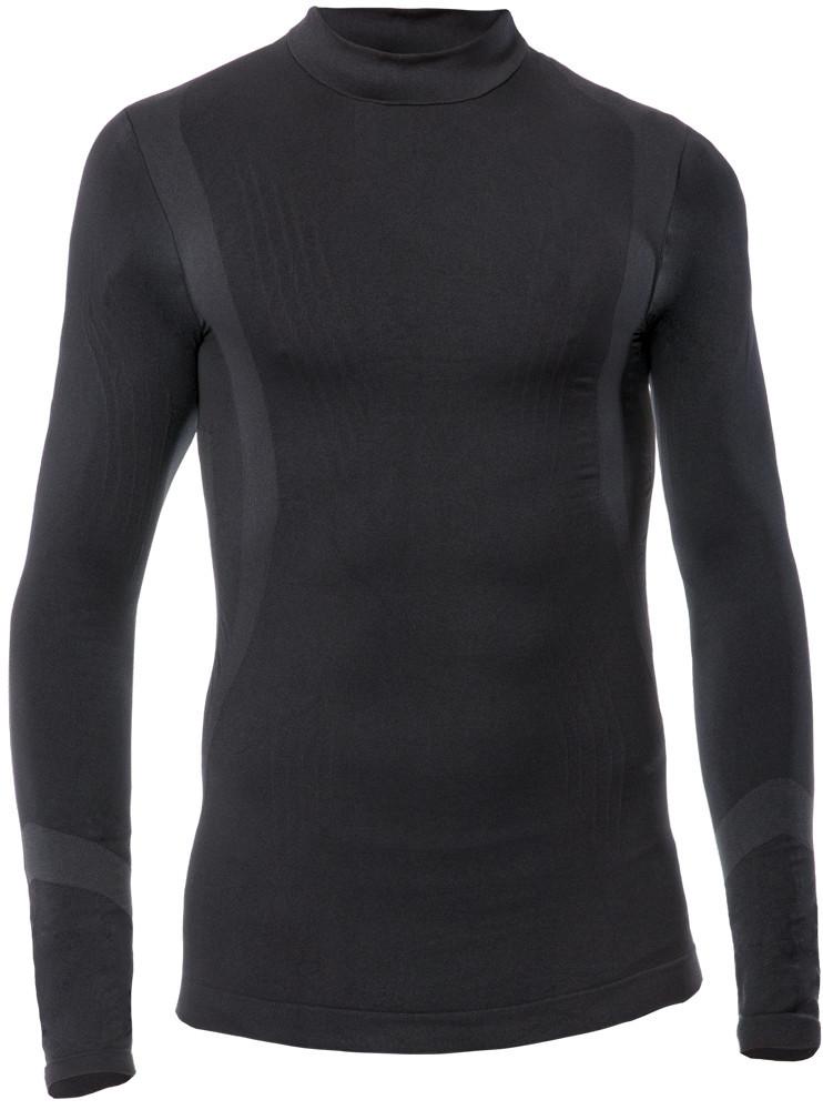 Detské funkčné tričko s dlhý rukávom IRON-IC Farba: Čierna, Veľkosť: 12/14