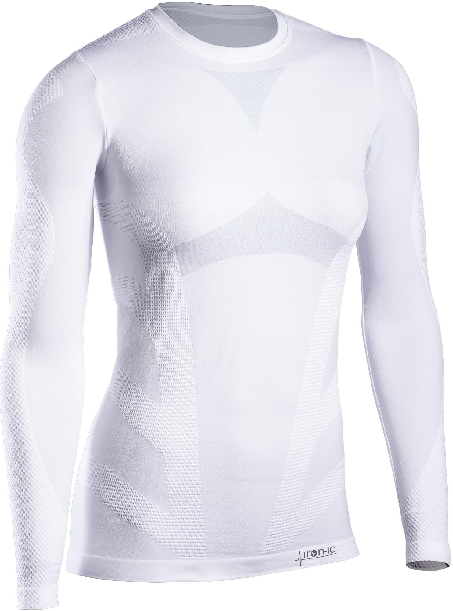 Dámske termo tričko s dlhým rukávom IRON-IC Farba: Biela, Veľkosť S / M