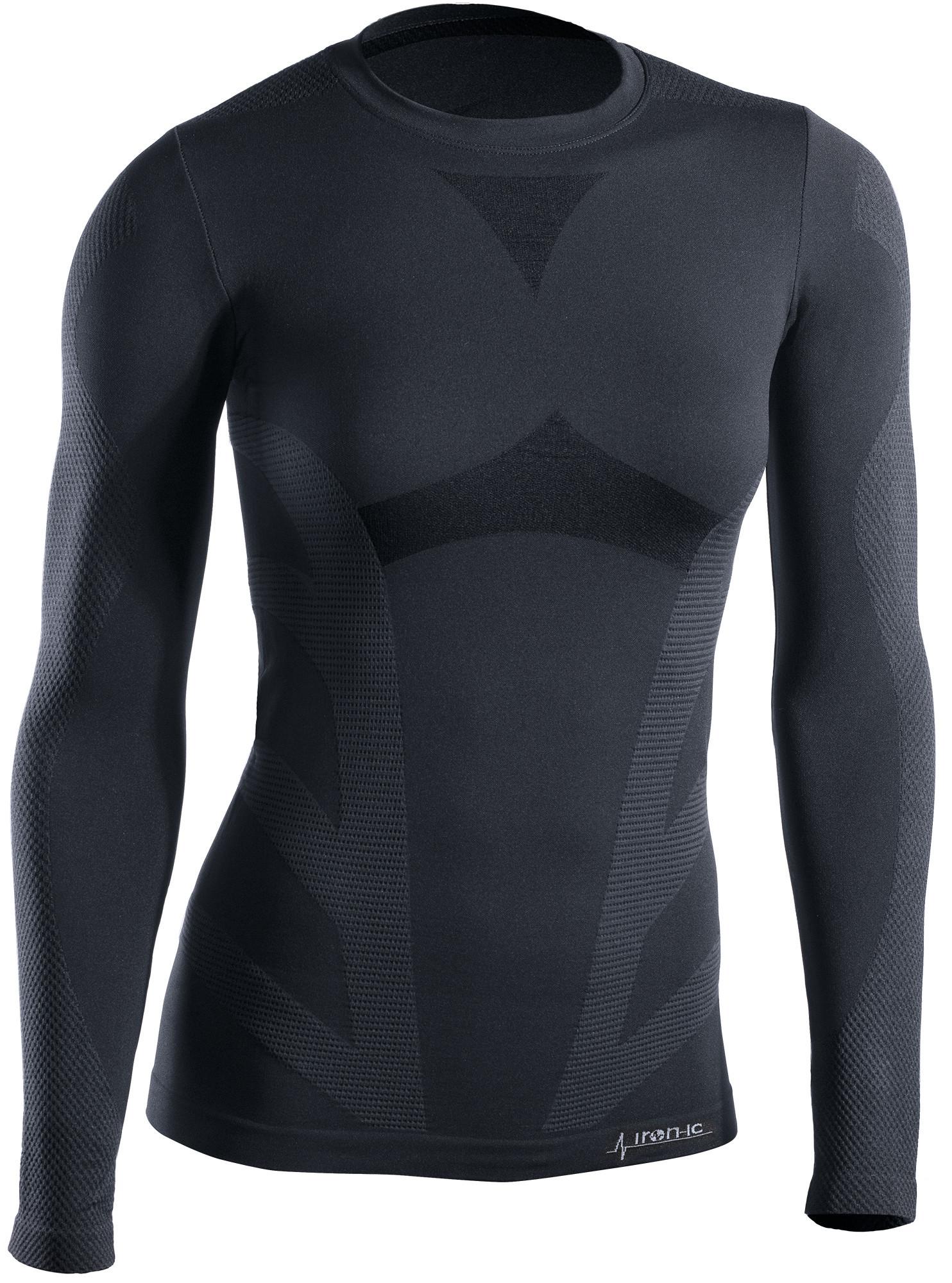 Dámske termo tričko s dlhým rukávom IRON-IC Farba: Čierna, Veľkosť S / M