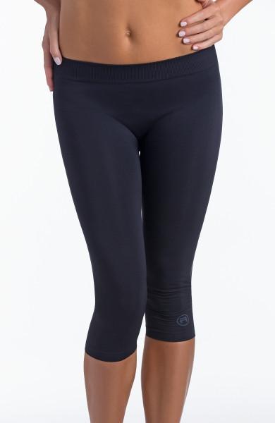 Dámske športové legíny 3/4 donna active-fit Farba: Čierna, Veľkosť L / XL