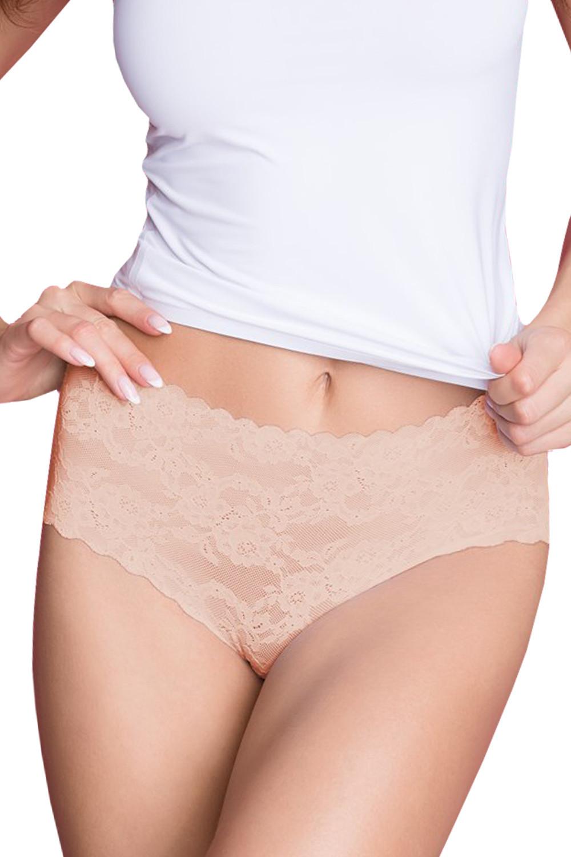 Dámske nohavičky vysoké Julimex Lingerie Bellie Maxi béžová l