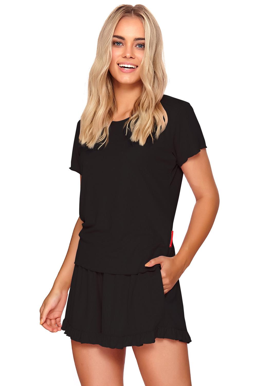 Dámske dvojdielne pyžamo Dn-NIGHTWEAR PW.4202 black l