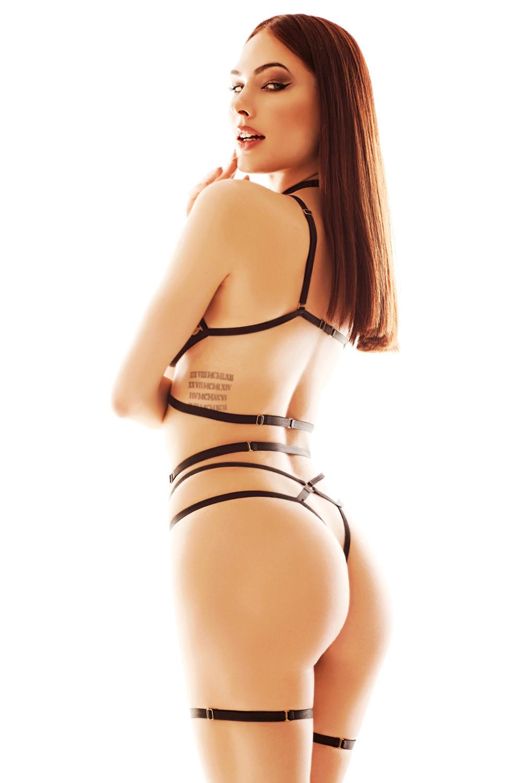 Erotický set Anais Paige panterka l/xl