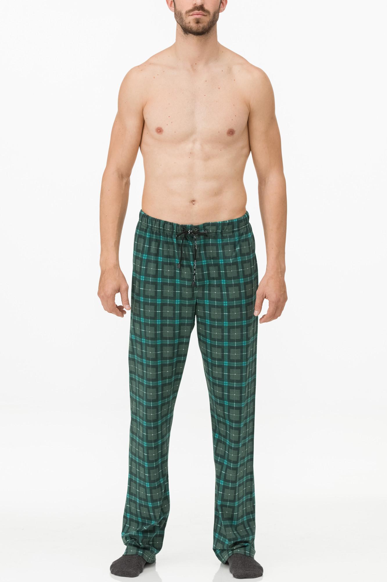 Vamp - Pánske pyžamové nohavice 11627 - Vamp green jungle xxl