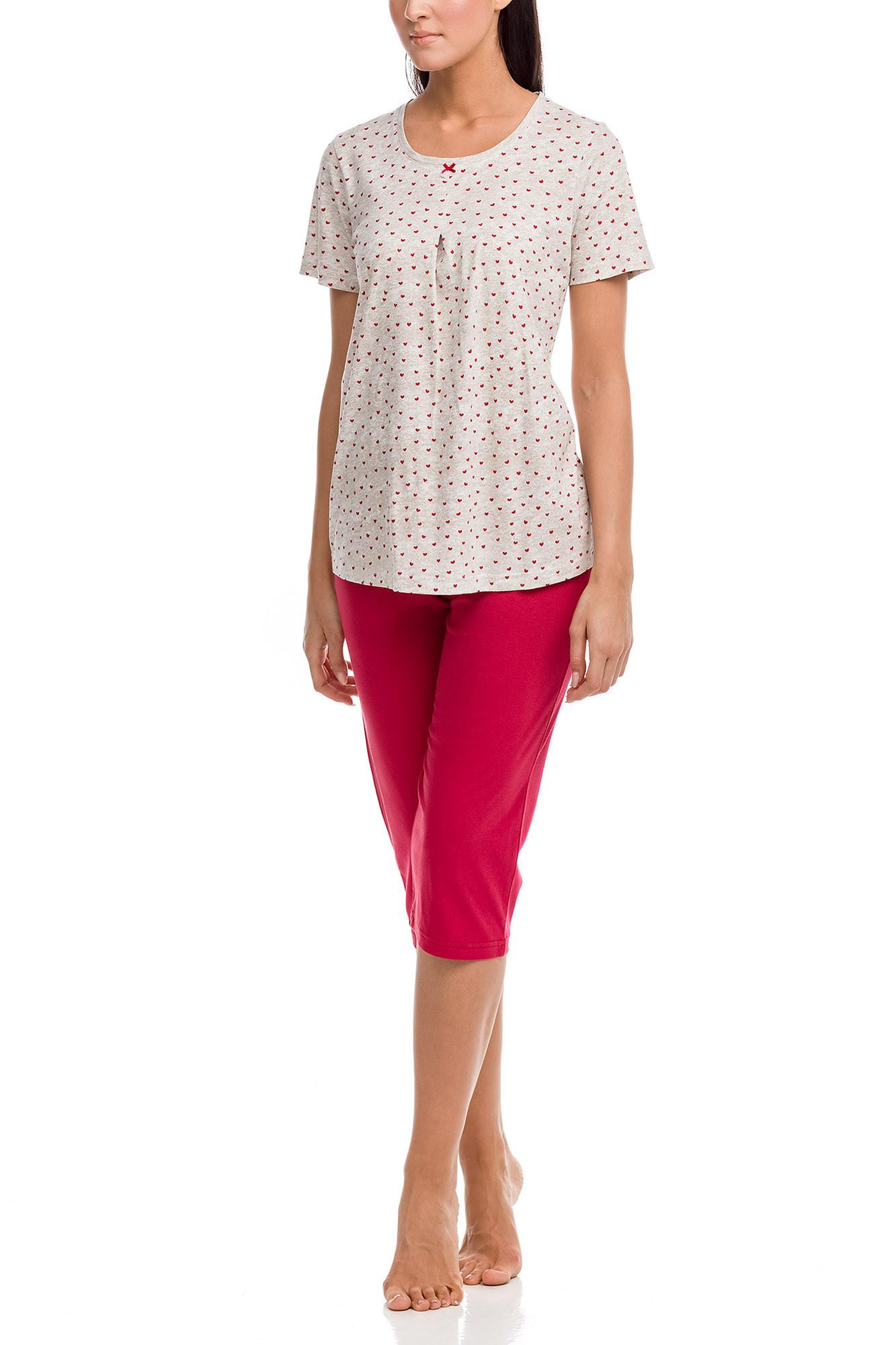 Vamp - Dámske pyžamo 12091 - Vamp beige xxl
