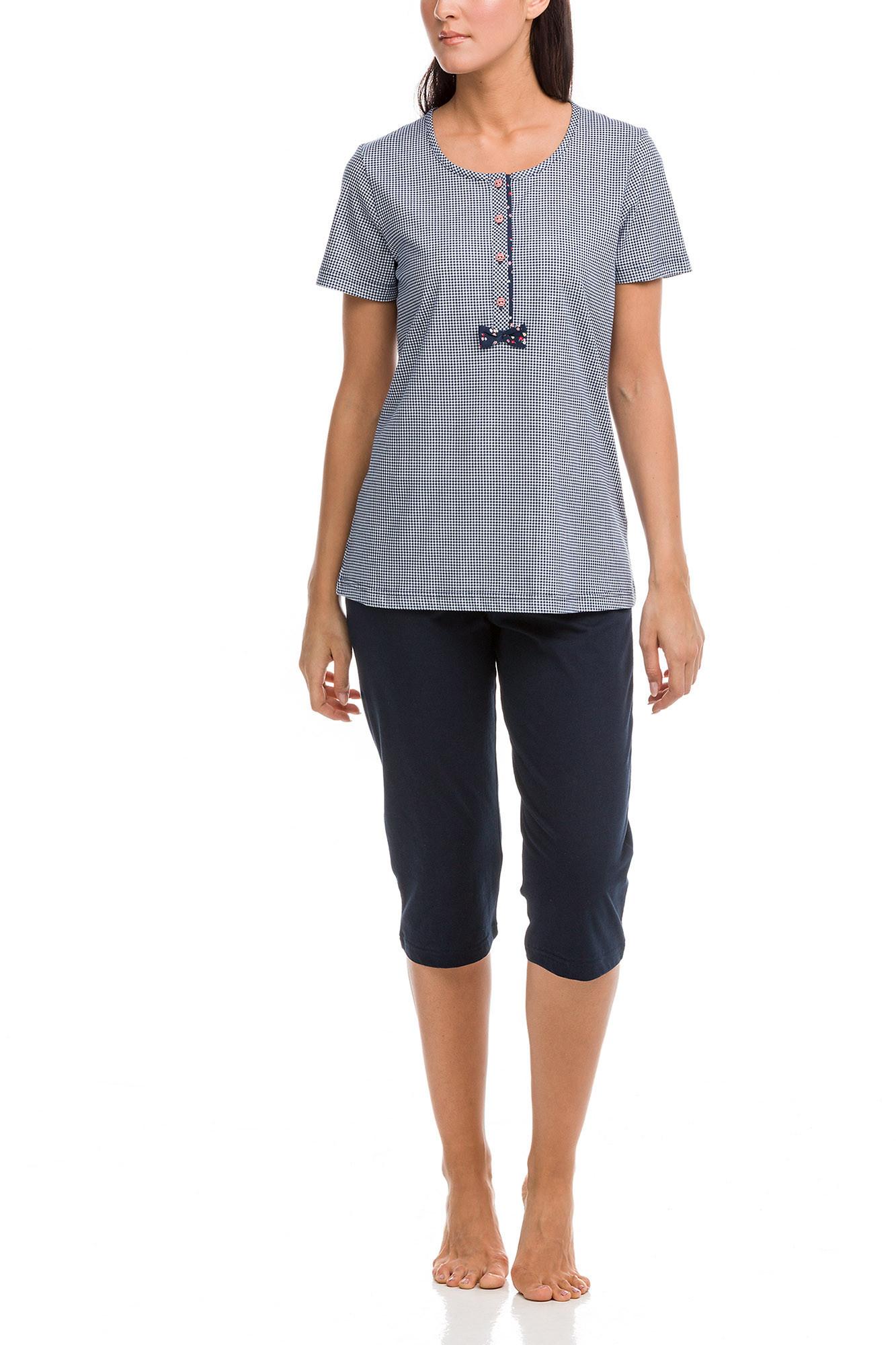Vamp - Dámske pyžamo 12410 - Vamp blue xl