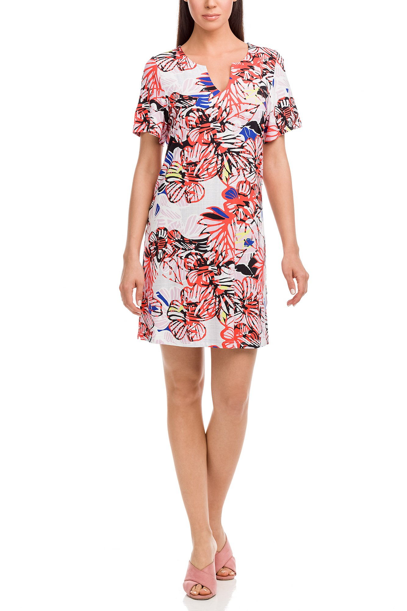 Vamp - Dámske šaty 12466 - Vamp coral xl