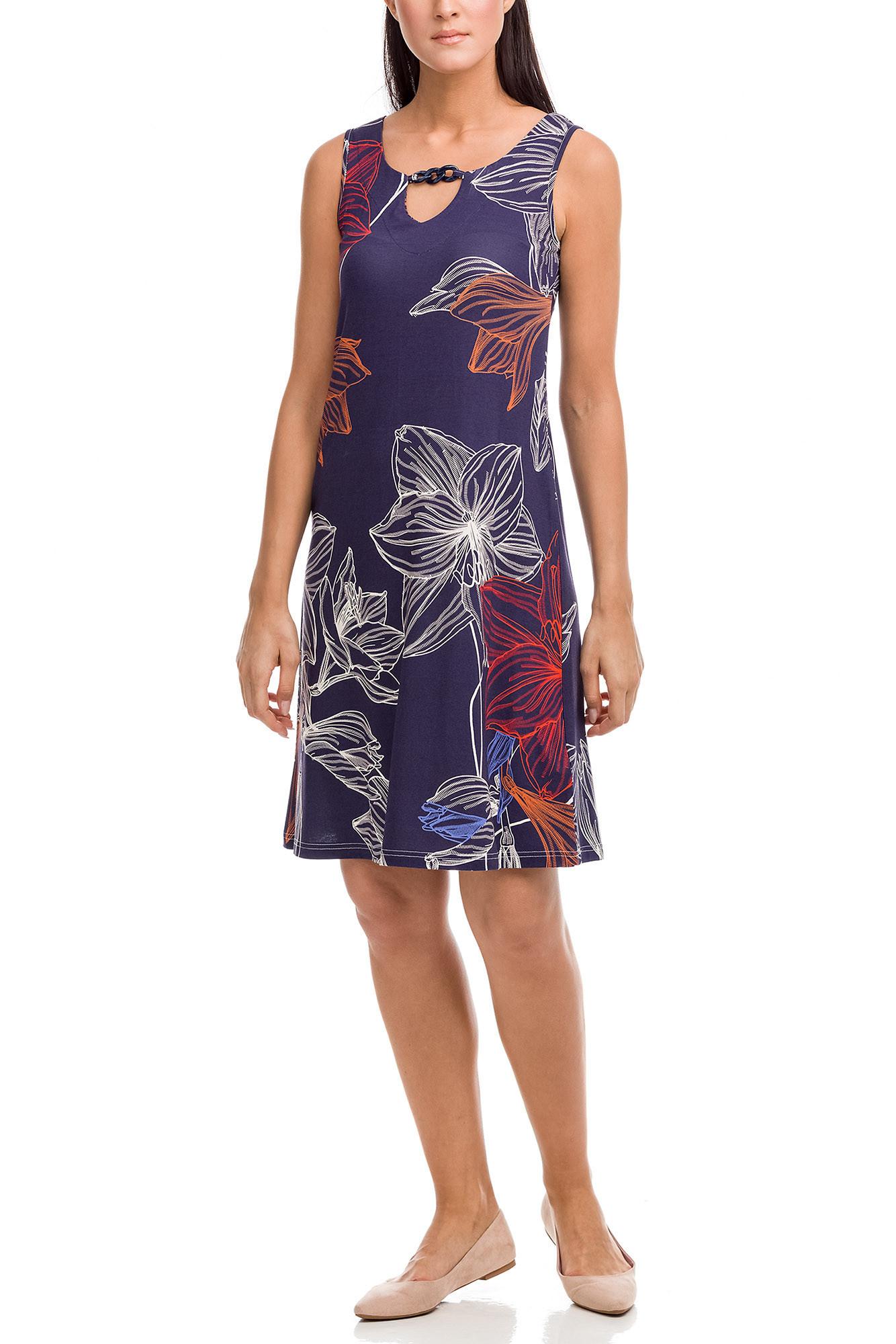 Vamp - Dámske šaty 12495 - Vamp modrá mořská XXL