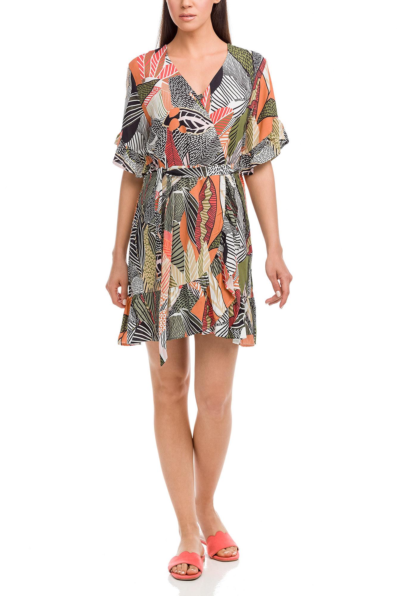 Vamp - Dámske šaty 12531 - Vamp coral spark xxl