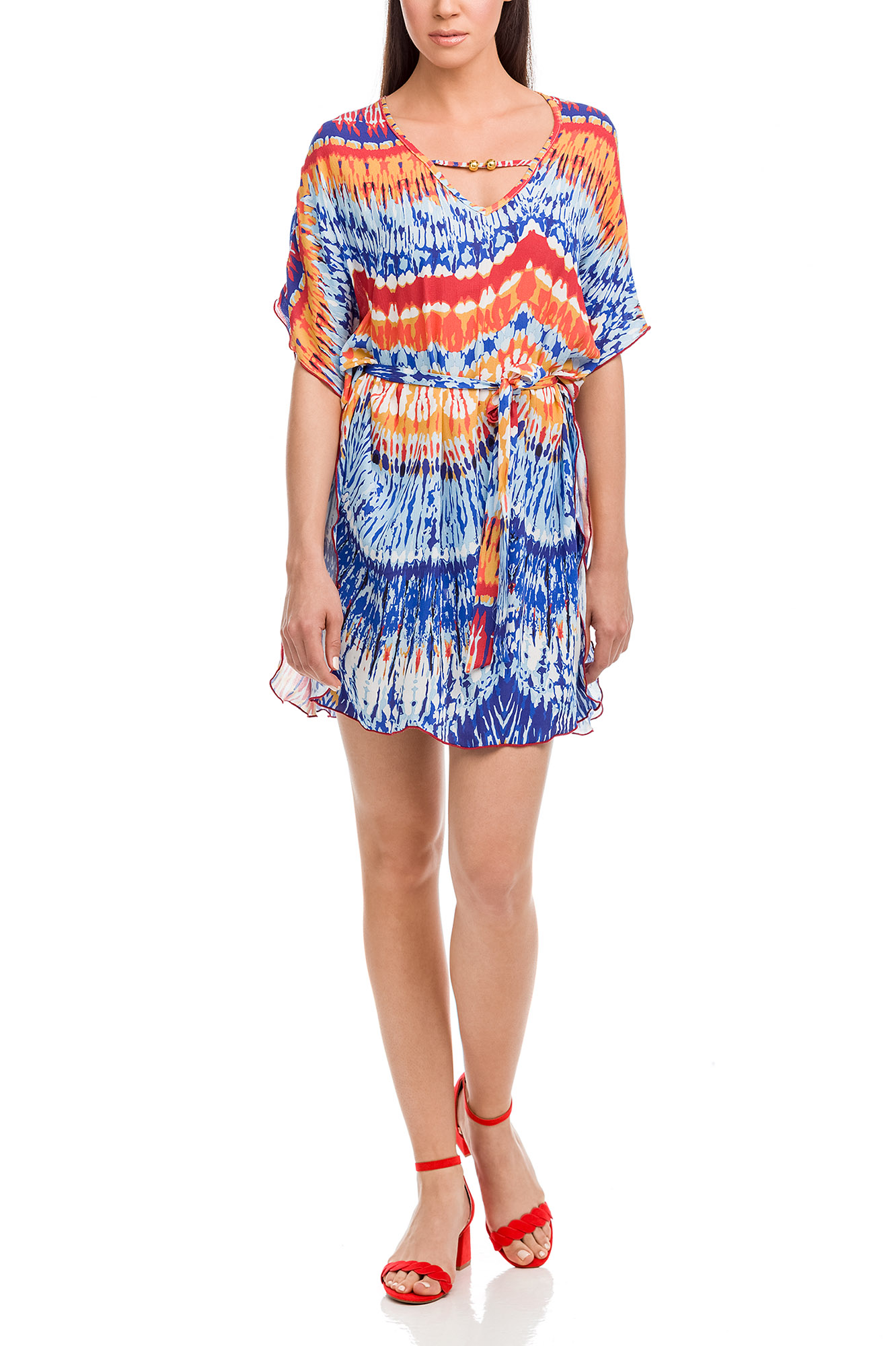 Vamp - Dámske šaty 12540 - Vamp blue palace xxl