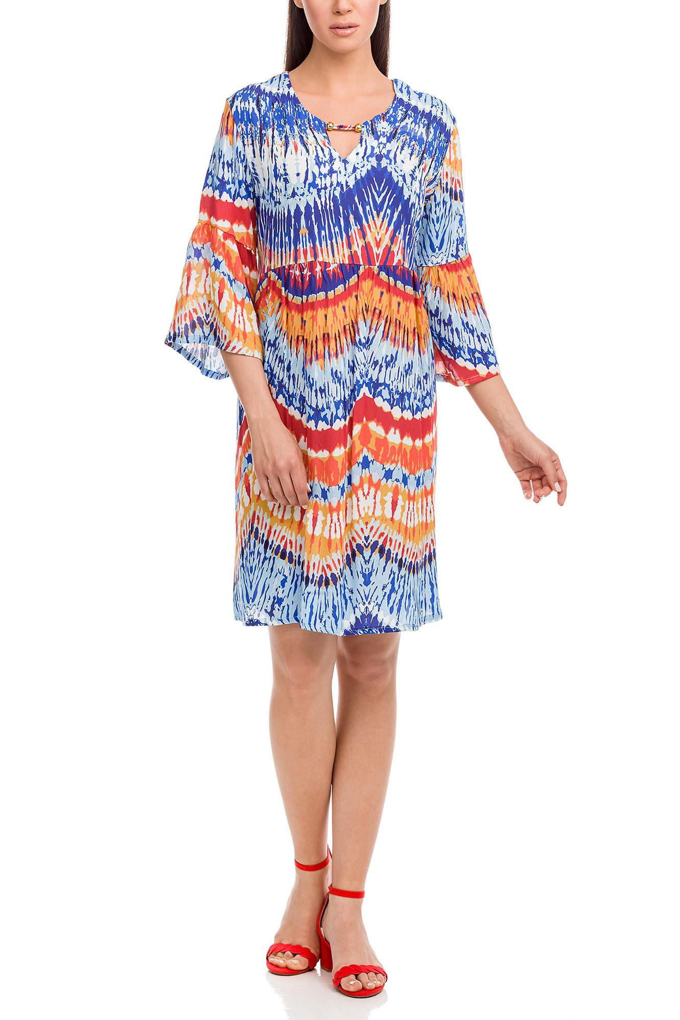 Vamp - Dámske šaty 12541 - Vamp blue palace xxl