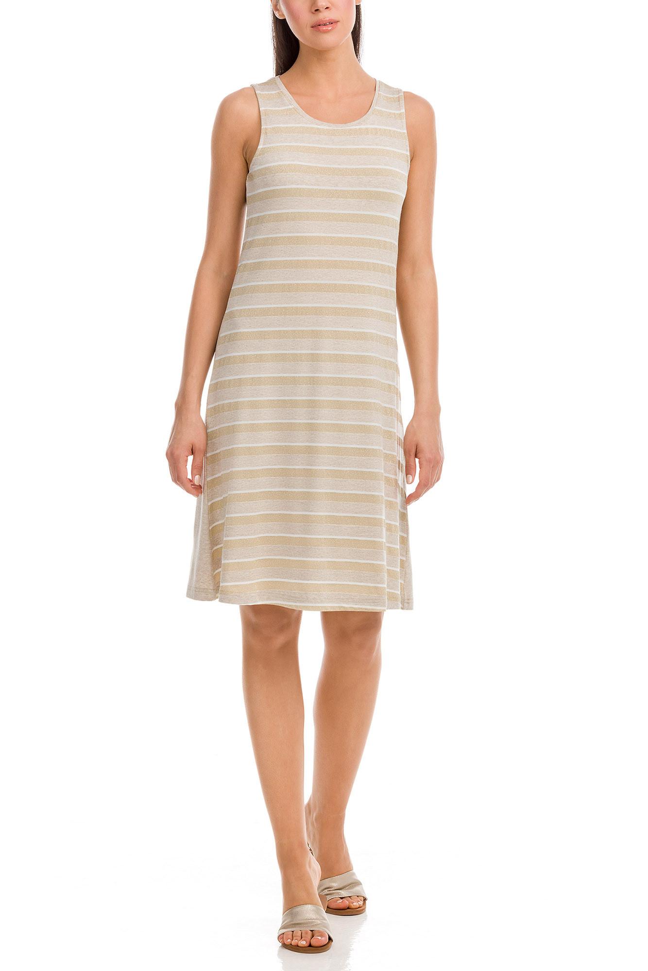 Vamp - Dámske šaty 12555 - Vamp beige melange xxl
