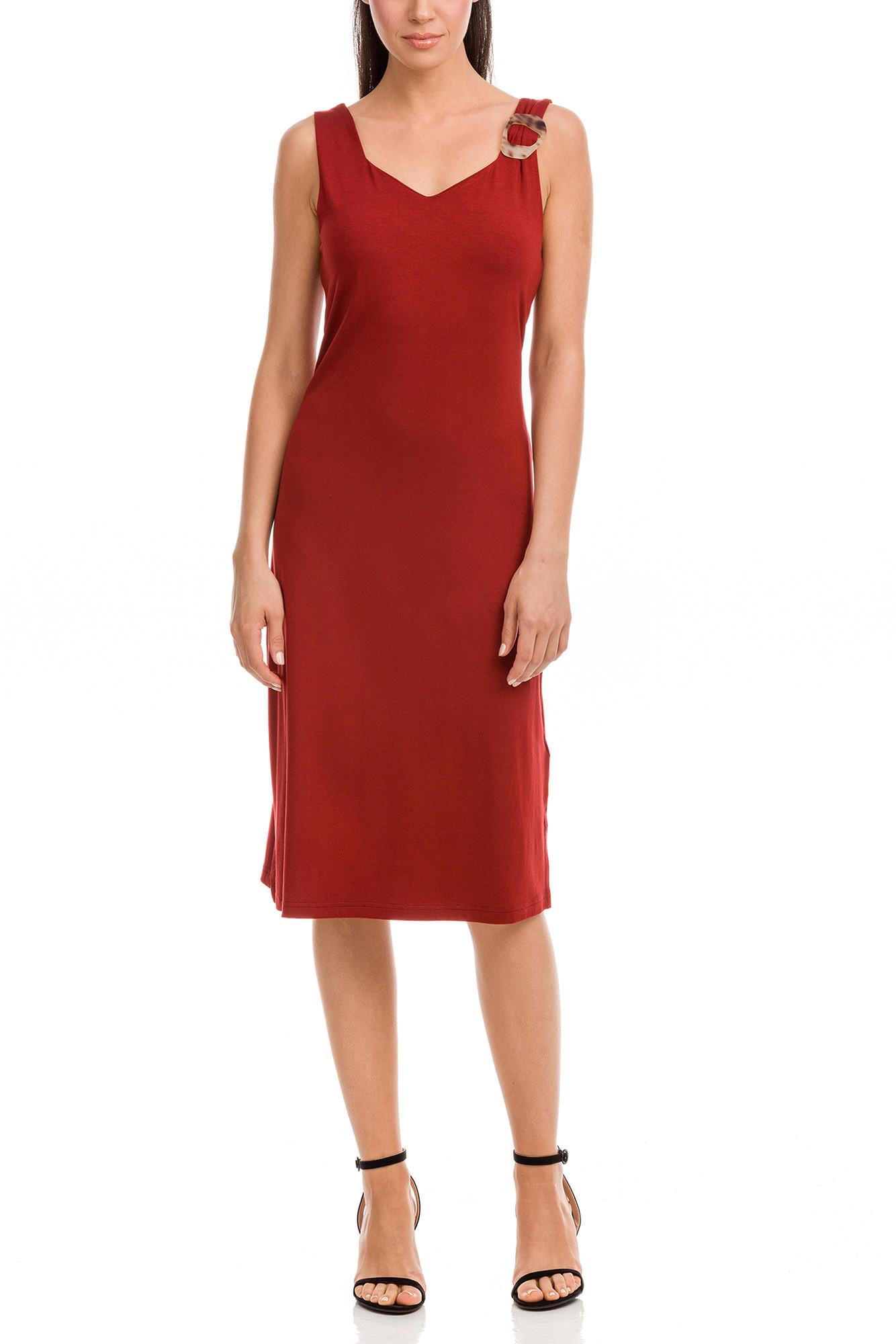 Vamp - Dámske šaty 12565 - Vamp red terracota s