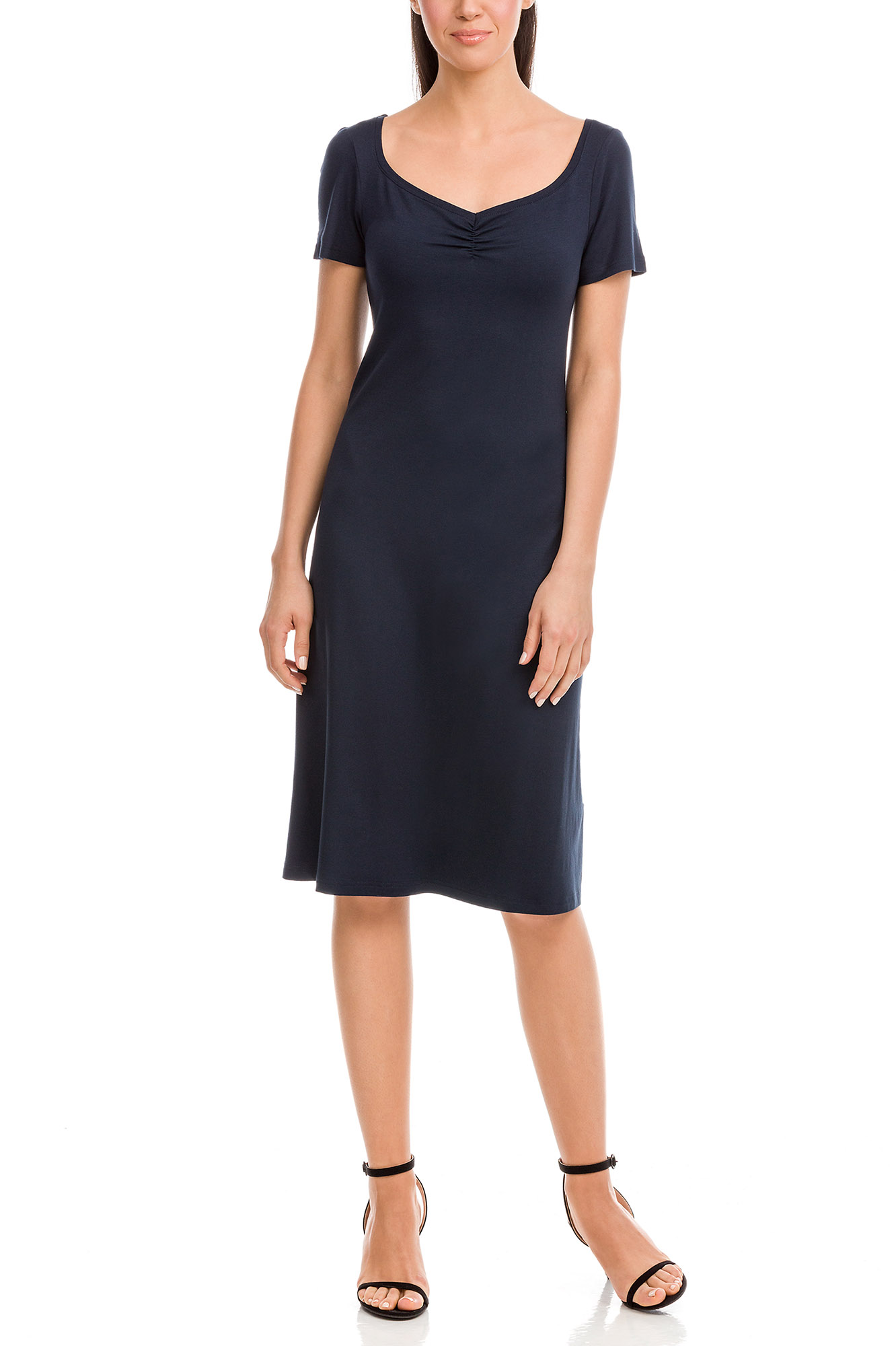 Vamp - Dámske šaty 12567 - Vamp blue xl