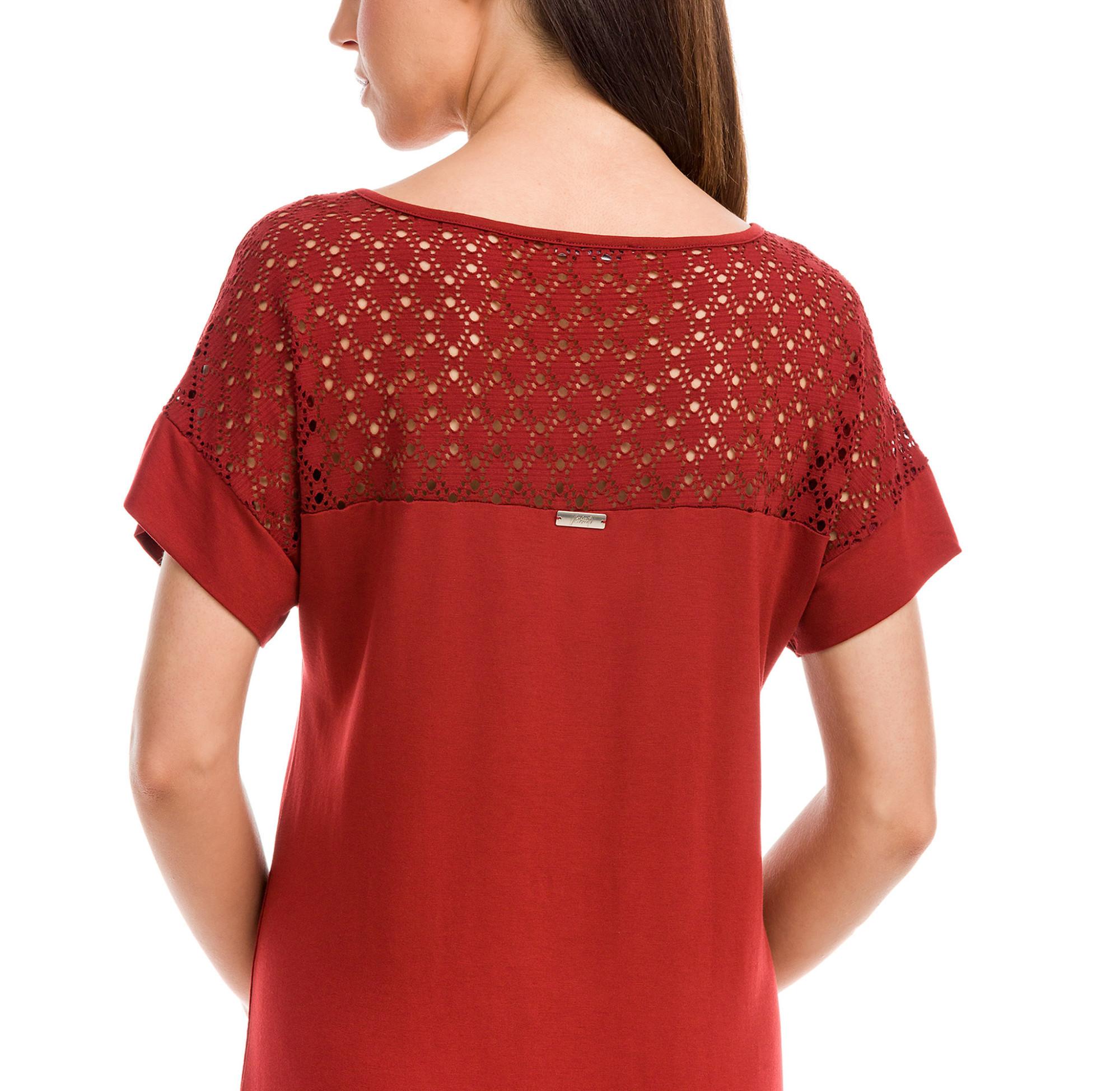 Vamp - Dámske šaty 12572 - Vamp red terracota s