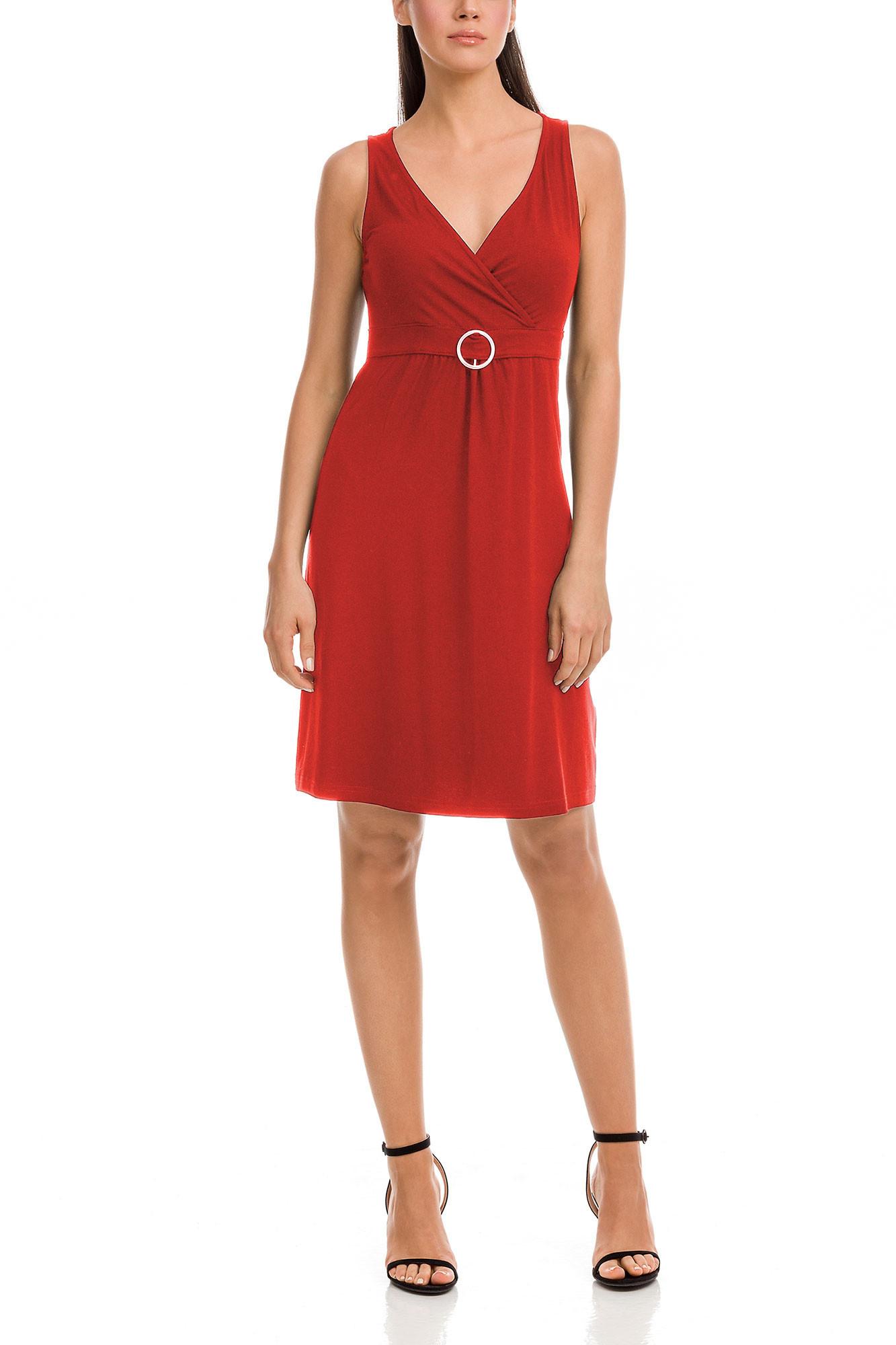 Vamp - Dámske šaty 12573 - Vamp red terracota l