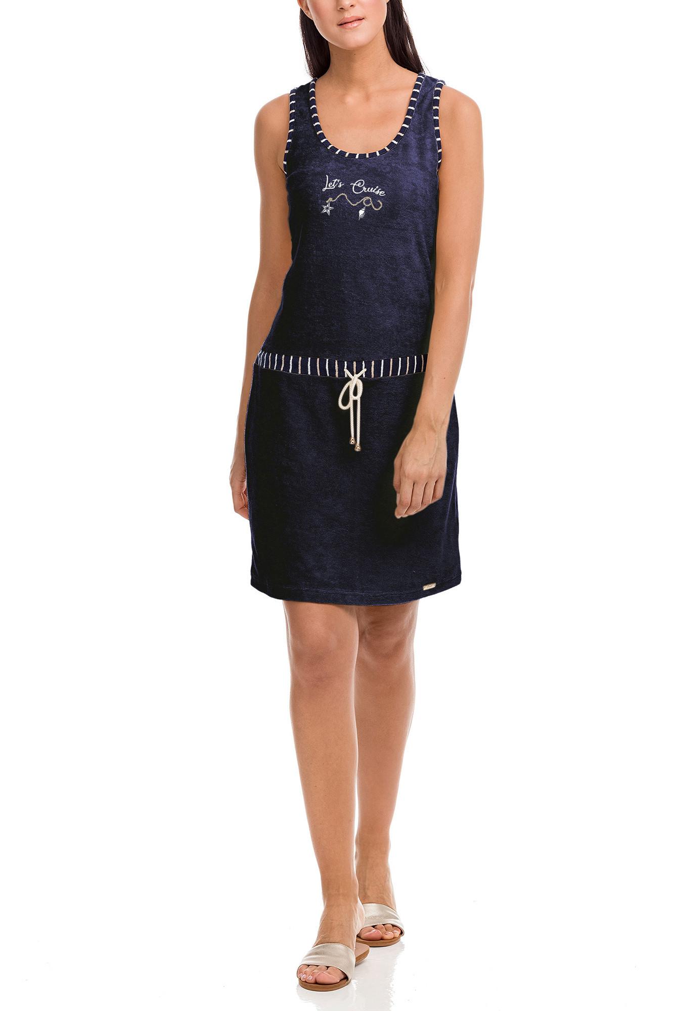 Vamp - Dámske šaty 12578 - Vamp Modrá m