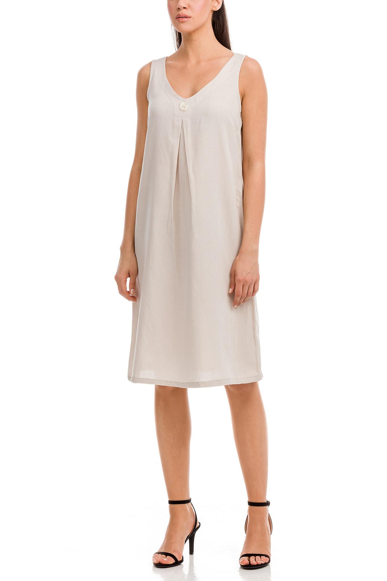Vamp - Dámske šaty 12585 - Vamp beige peach xxl