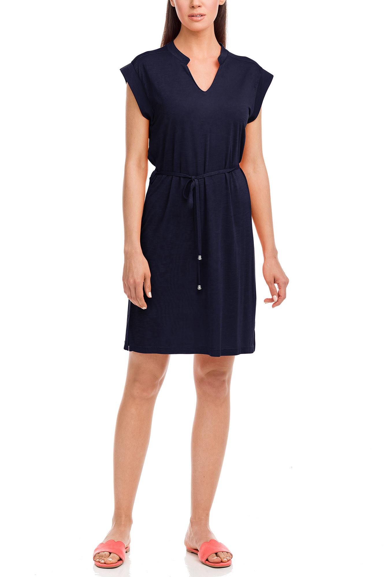 Vamp - Dámske šaty 12590 - Vamp Modrá l