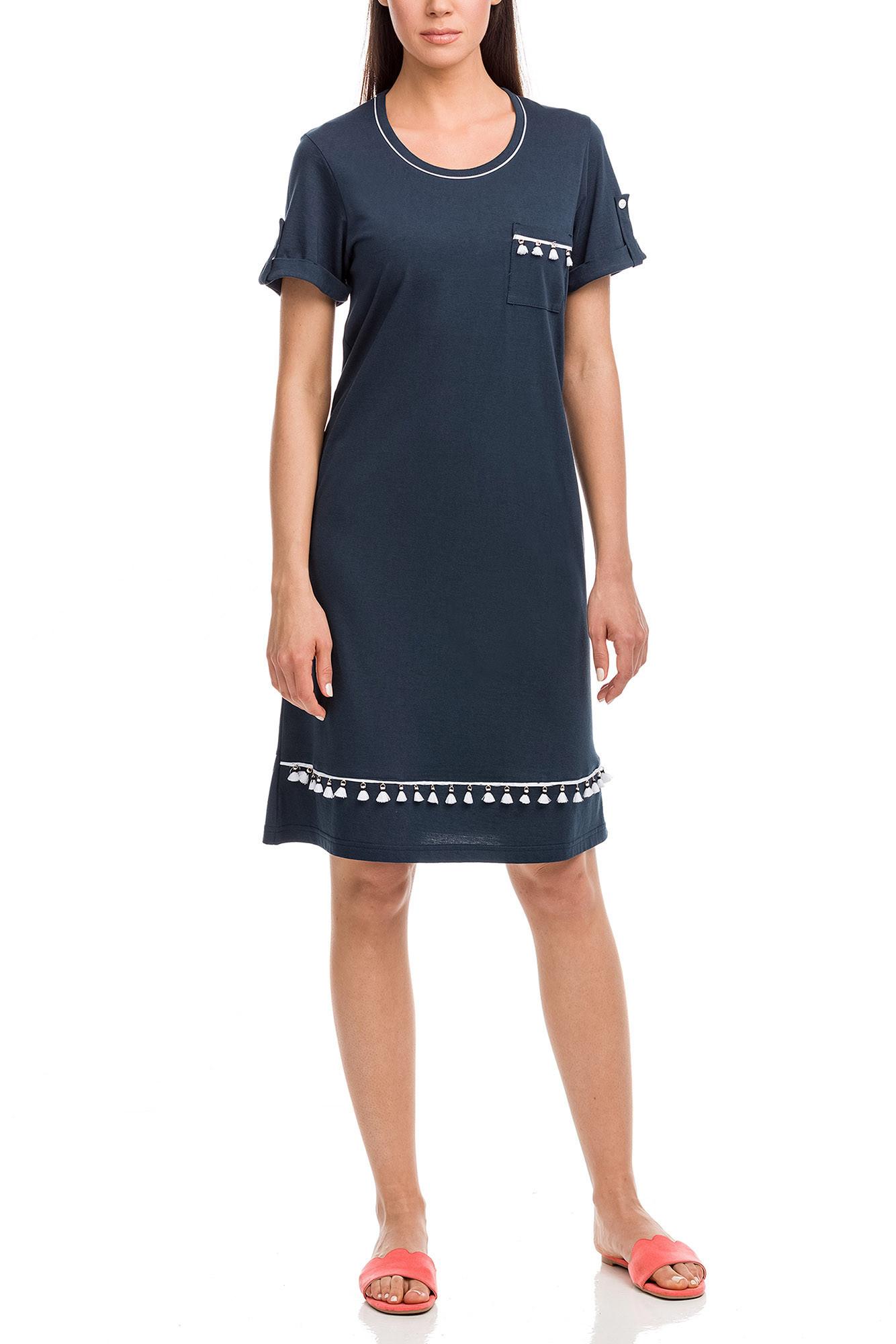 Vamp - Dámske šaty 12595 - Vamp blue oxford 3XL