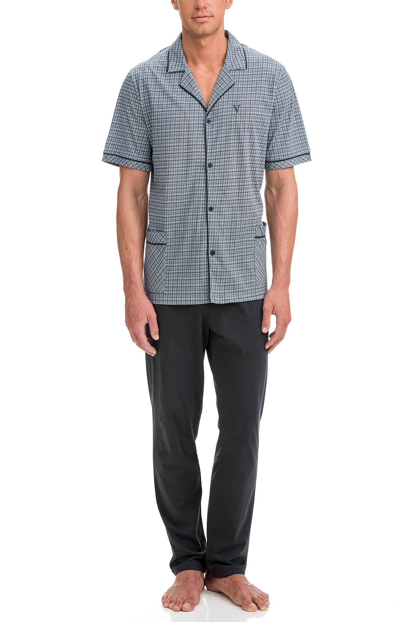 Vamp - Pánske pyžamo 12632 - Vamp dark gray xl