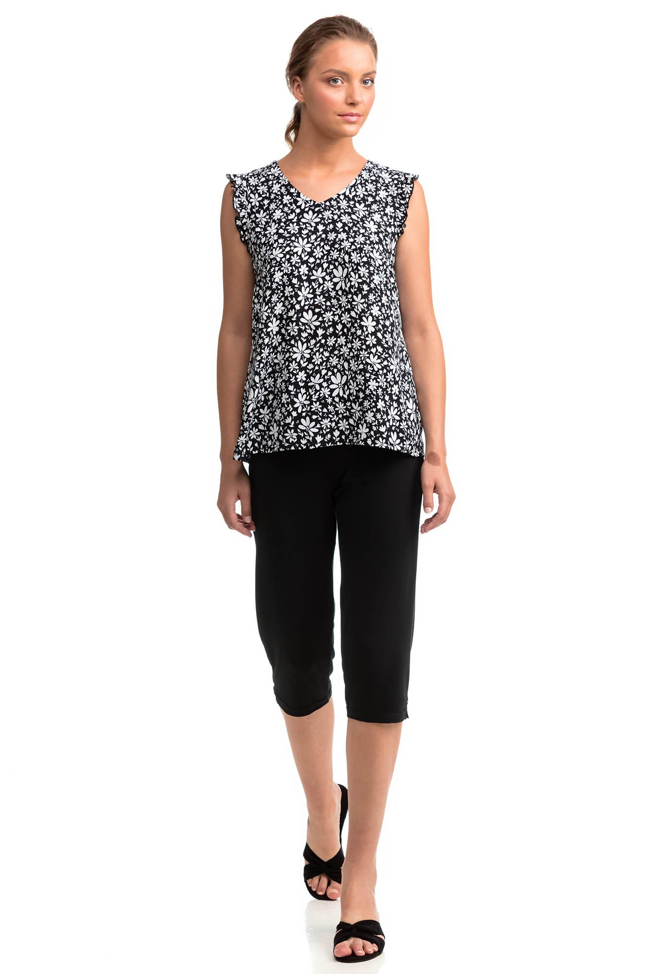 Vamp - Dámske pyžamo 14056 - Vamp black l