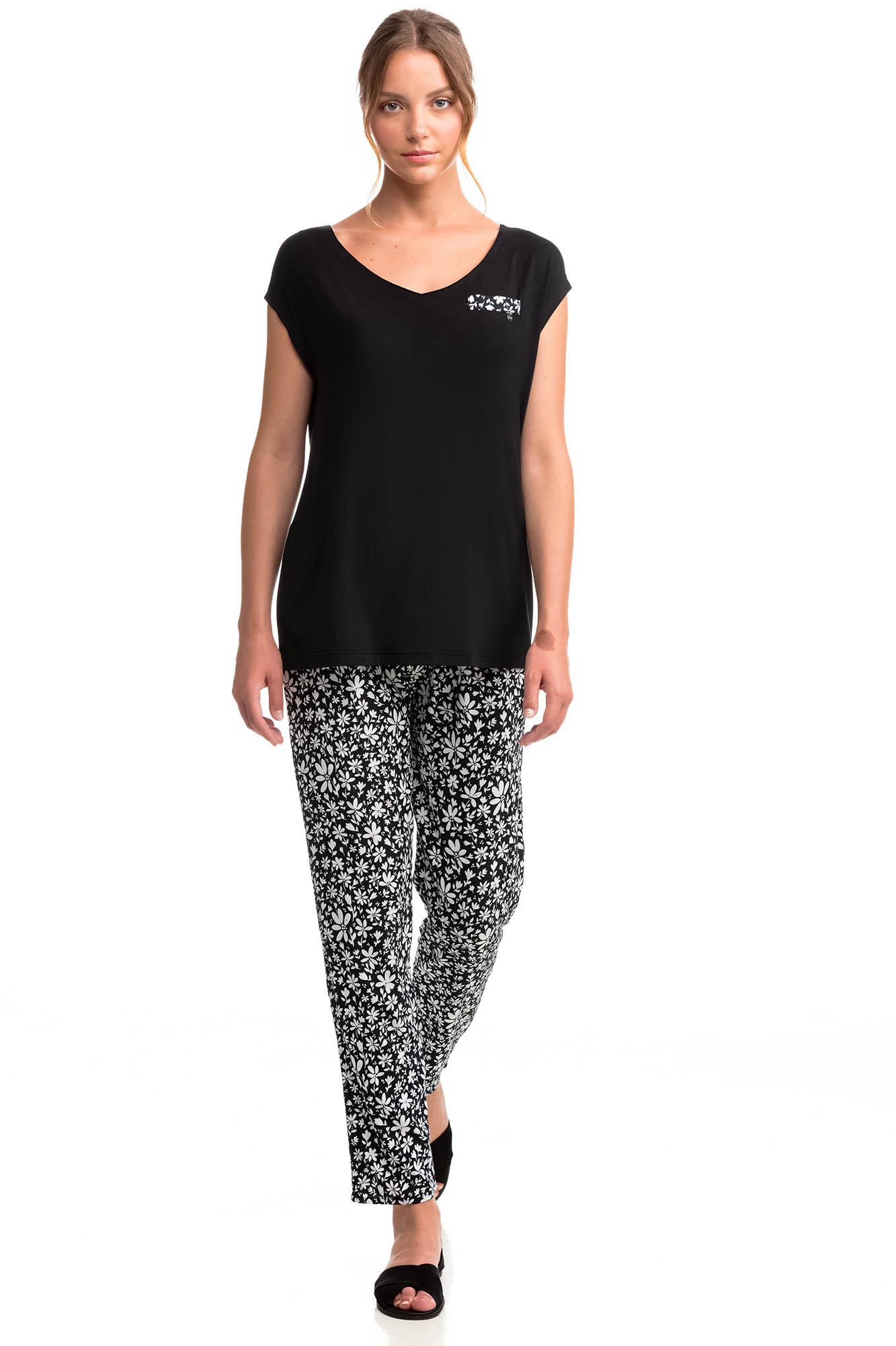 Vamp - Dámske pyžamo 14061 - Vamp black l