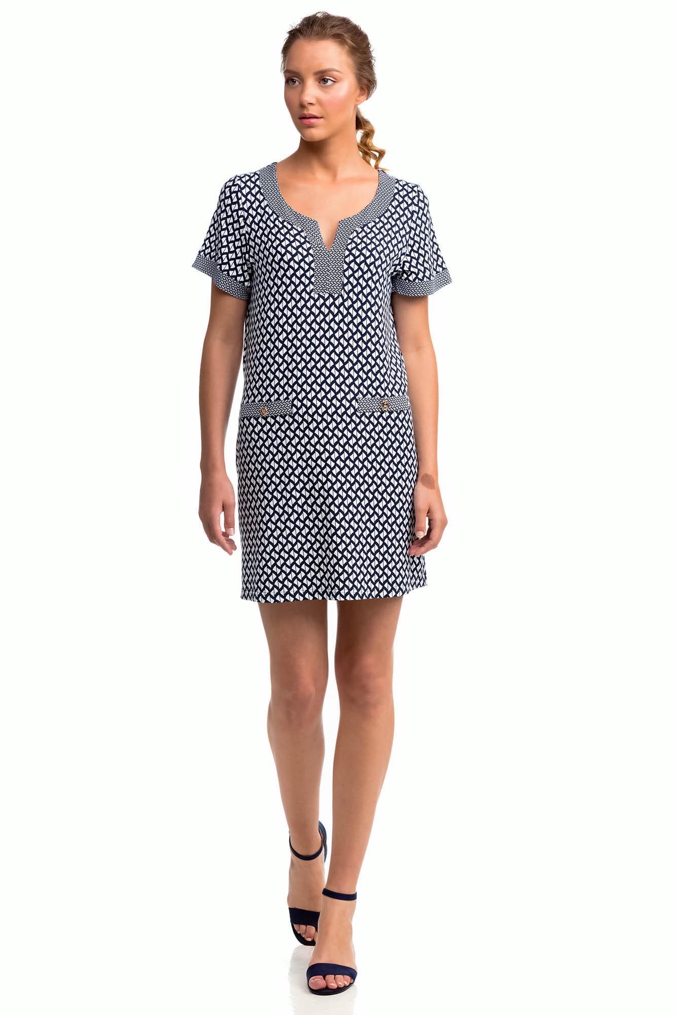 Vamp - Letné dámske šaty 14450 - Vamp blue s