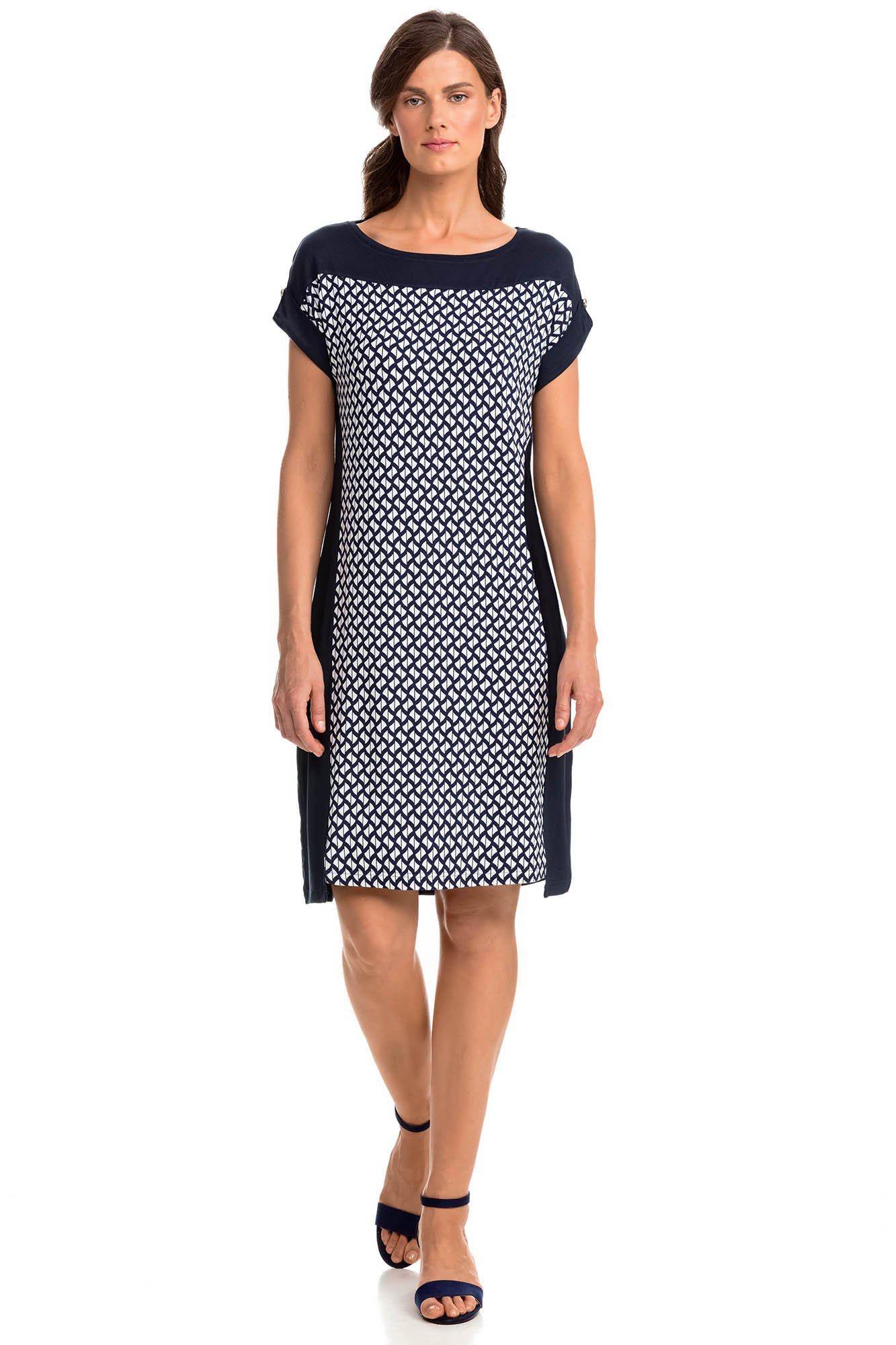 Vamp - Letné dámske šaty 14453 - Vamp blue s