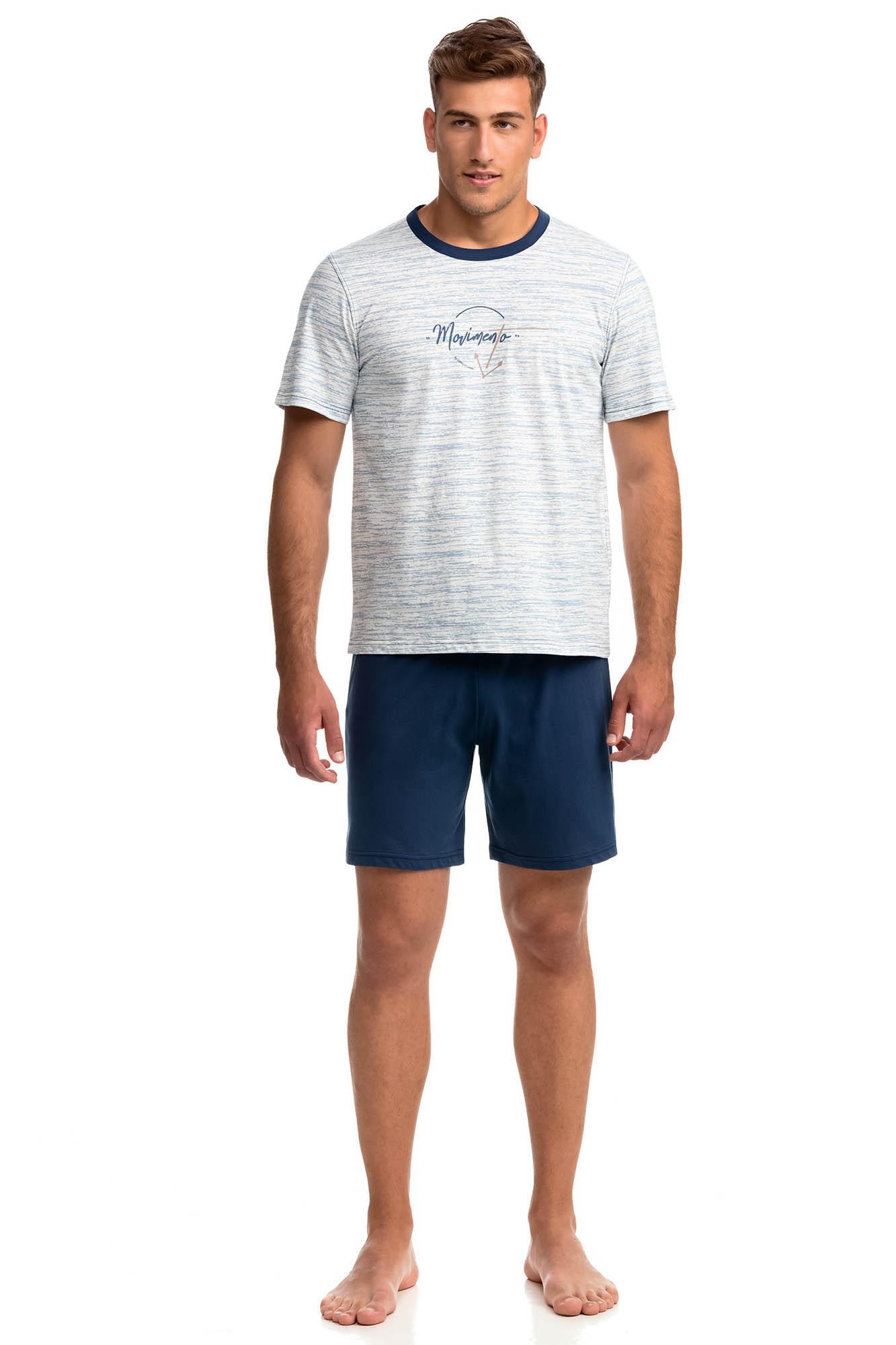 Vamp - Pohodlné dvojdielne pánske pyžamo 14805 - Vamp raf xxl