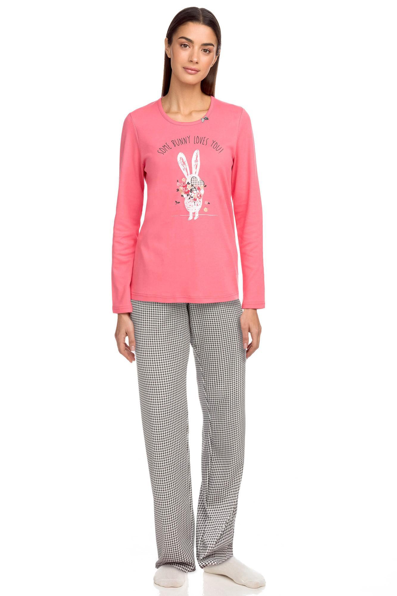 Vamp - Dámske pyžamo 15353 - Vamp růžové potěšení XXL