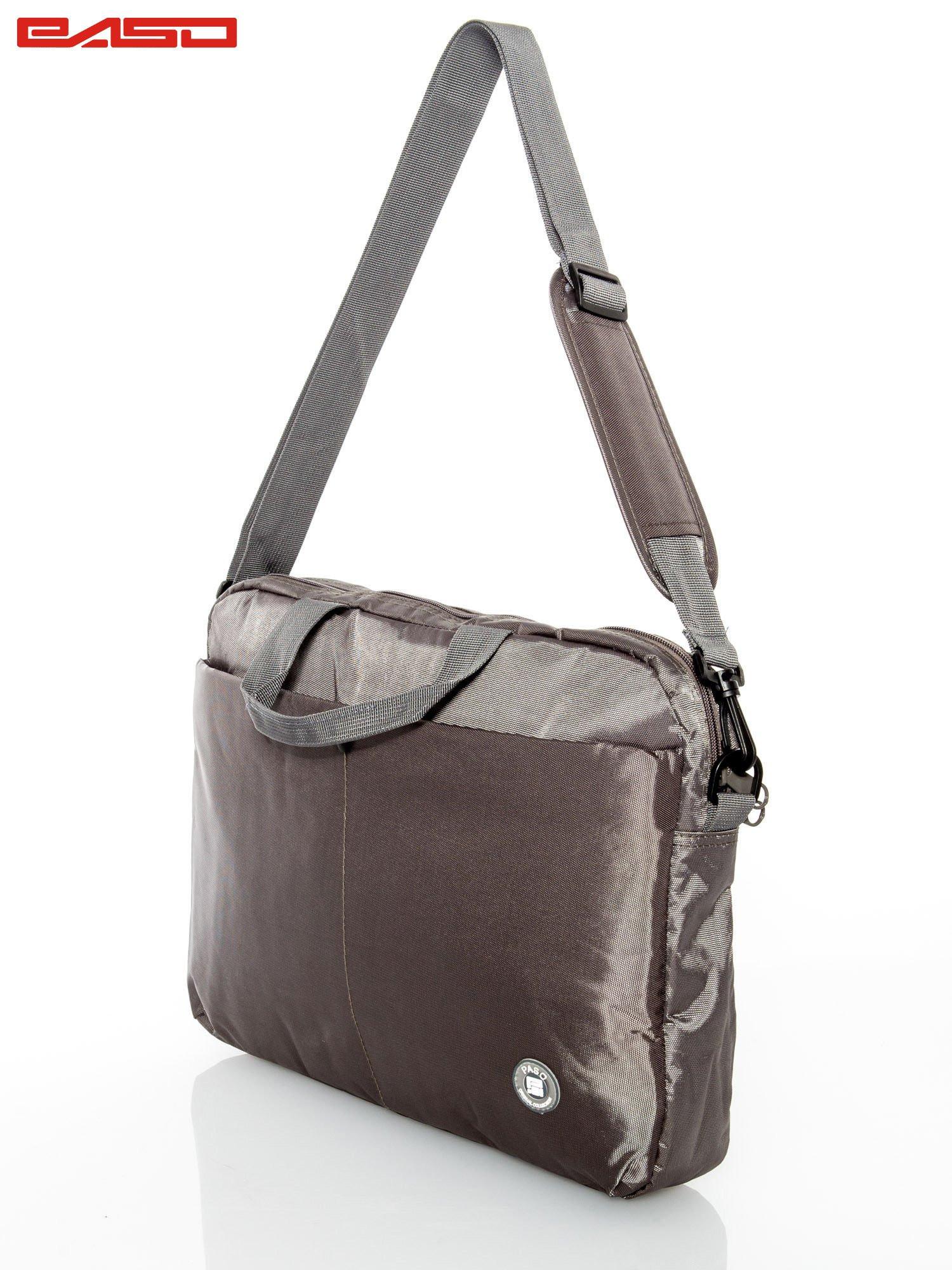 Khaki taška na notebook
