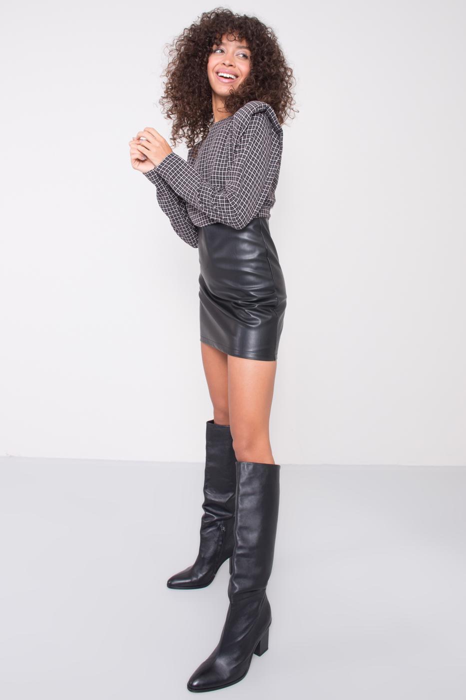 Čierne mini šaty BSL XS