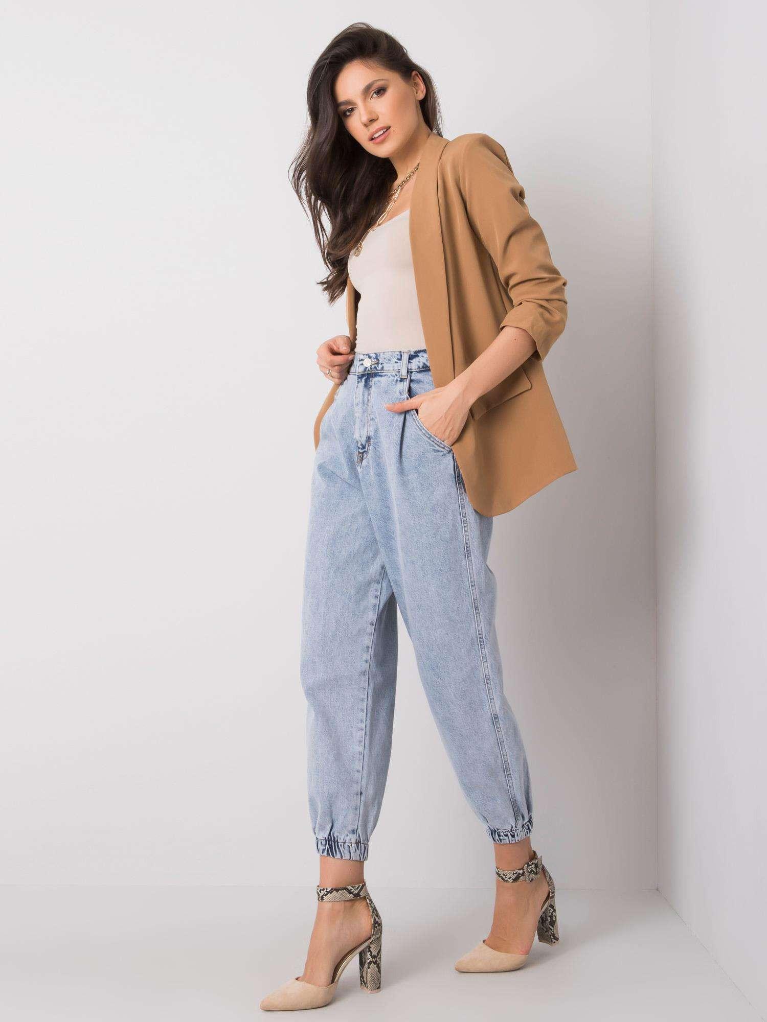 RUE PARIS Svetlo modré dámske džínsy XS